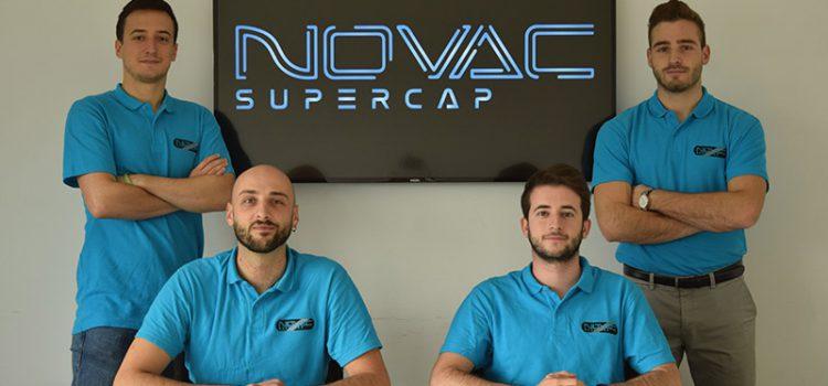 Unimore presenta Novac Supercap, la prima startup creata da soli studenti