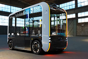 """A Reggio Emilia il progetto """"Ride 2 Autonomy"""" sperimenta una navetta a guida autonoma"""